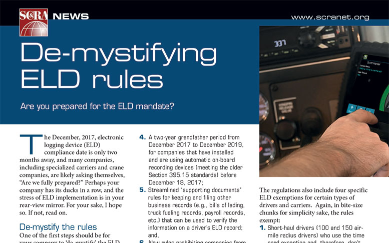 De-Mystifying ELD Rules