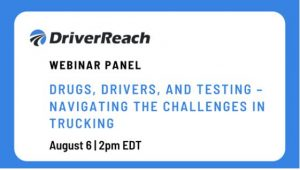 STC to Participate in Virtual Panel Discussing Drug Use in the Trucking Industry