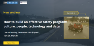 How to Build an Effective Safety Program: Culture, People, Technology and Data